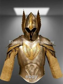 Medieval Wearable Cuirass Armor Knight Half Suit of Armor Cosplay Costume