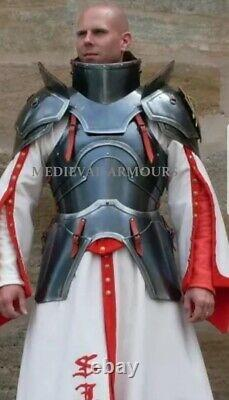 Medieval Wearable Cuirass Armor Suit 18 Ga Steel Knight Body Armor Larp Costume