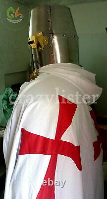 Medieval Wearable Knight Crusader Full Suit Of Armor Costume Armour Cosplay