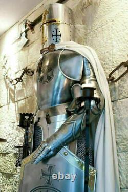 Medieval Wearable Knight Crusader Suit Of Armour Halloween Spartan Armor Costume