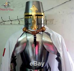 Medieval Wearable Knight Crusador Full Suit Of Armour Suit Costume Handmade Gift