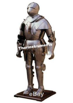 Medieval Wearable Knight Full Body Armor Costume Suit