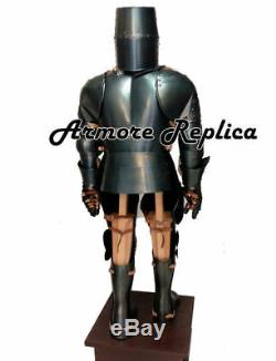 Medieval Wearable Knight Full Suit Of Armor 15 Century By Vimhari