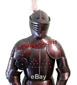 Medieval Wearable Knight Full Suit of Armor Combat Body Costume