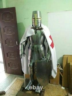 Medieval Wearable Knight Spartan Full Suit of Armour Crusader Roman Costume Gift