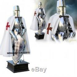 Medieval Wearable Knight Suit 15TH Century Combat Full Body Armor Suit & Stand