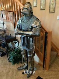 Medieval Wearable Pig Armour Suit Combat Knight Crusader Suit of Armour Costume