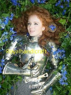 Medieval Woman Lady Armor with armor, Female knight, Warrior girl Suit BattleReady