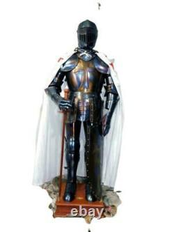 Medieval vintage Knight Wearable Suit Of Armor Crusader Combat Full Body Armour