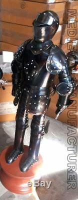 Mini Medieval Suit of knights Armor for Home Office Decoration 3 Feet Height