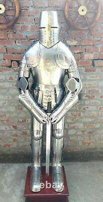 NEW Medieval Knight Suit of Armor 15th Century Combat Full Body Armour Sword