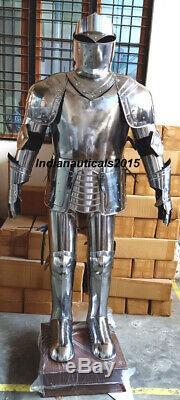 Nautical medieval knight suit of armor 15th century combat full body armor