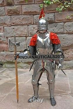 Renaissance 15th Century Combat Suit of Armor Medieval Knight Costume