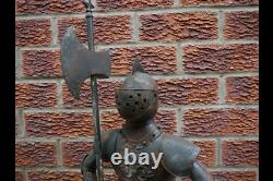 Standing Knight Suit of Armour Medieval Style Warrior Statue Medium 89cm