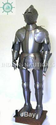 Suit of Armor 15th Century Medieval Knight Combat Full Body Armour Suit Replica