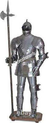 Suit-of-Armor-17th-Century-Combat-Full-Body-Armour-Suit Medieval-Knight