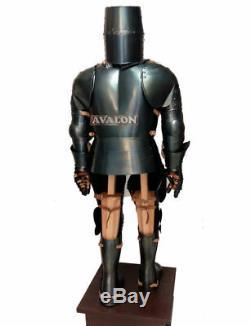 Templar/Combat/ Medieval Knight Full Suit Armor Full Body Halloween Replica