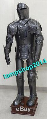 UNIX Medieval Knight Wearable Suit Of Armor Crusader Gothic Full Body Armour