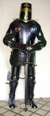 Wearable Armor Suit Knight Templar Armor Suit Battle-Ready Steel Armor Suit