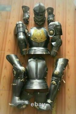 Wearable Crusader Medieval Knight Suit of Armor Armour Combat Gothic Full Body