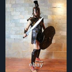 Wearable Medieval Crusader Troy Knight Armor Life Size Suit Authentic Armour