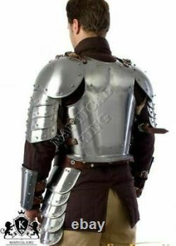 X-Mas Medieval HALF Armour Suit Warrior Larp Armor Knight Collectible Re product