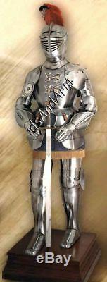X-Mas Medieval Knight Suit Of Armor 17Th Century Spanish Full Body Armour Su