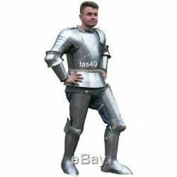 X-Mas Medieval Knight Suit Of Templar Toledo Armour Combat Full Body Armour