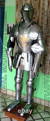 X-Mas Sca Larp Wearable Medieval Knight Combat Armor Full Suit With Stand